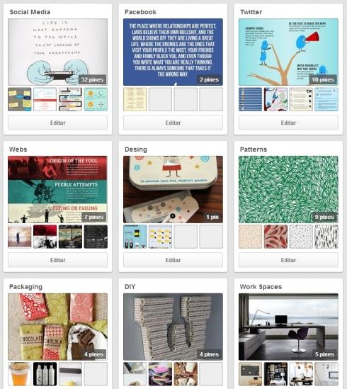 SCQ Comunicación - Pinterest