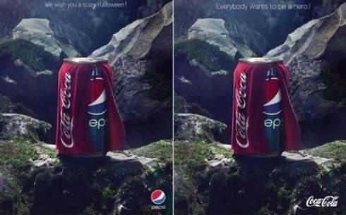 Coca Cola vs Pepsi Halloween